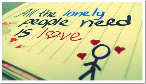 All the Lonely People Need Is Love