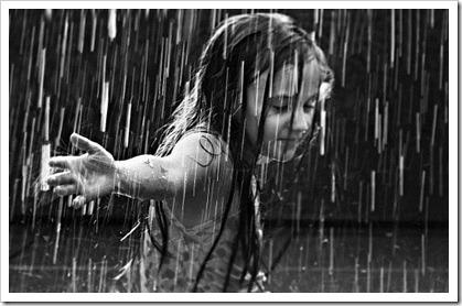 I love to walk in the rain_